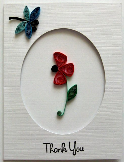 Quilled Thank You