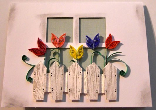 Tulip Window Box