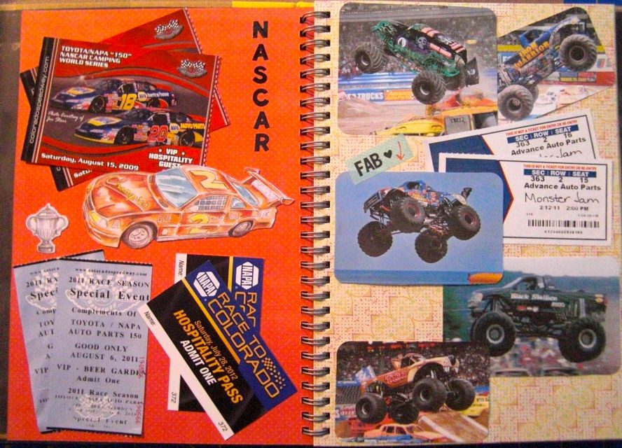 Nascar / Monster Jam – Events Journal