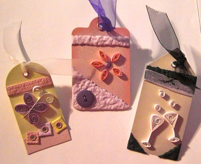Quilled Tags