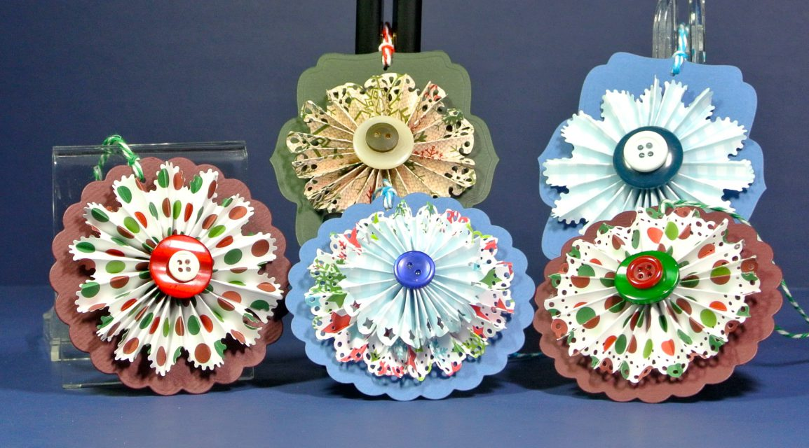 Simple Rosette Gift Tags