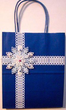 Snowflake Gift Bag
