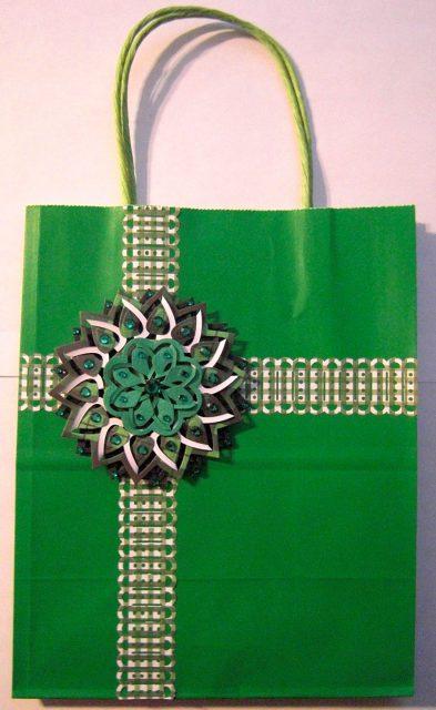 Floral Burst Gift Bag