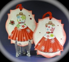Party Dress Gift Tags
