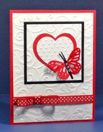 Butterfly & Heart Valentine