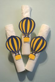 Hot Air Balloon Napkin RIngs