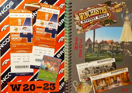 Touchdown! Mystery House – Events Journal