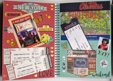New York Theater & Football – Events Journal