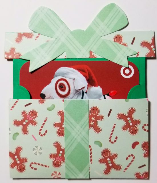 Gingerbread Gift Card Holder
