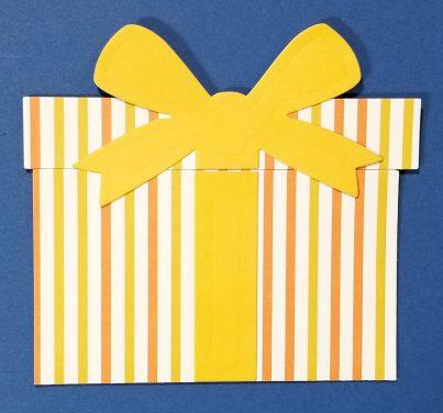Stripe Gift Card Holder