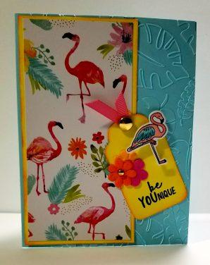 Be YOUnique Flamingo