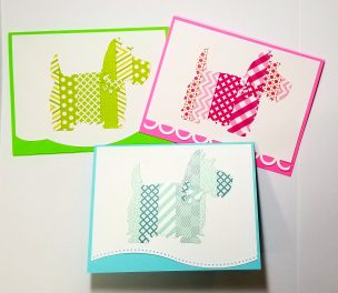 Washi Tape Scotties
