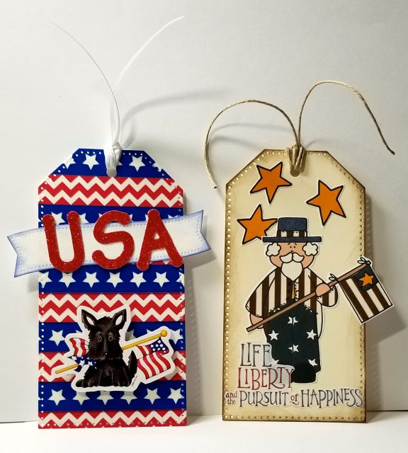4th of July Tags