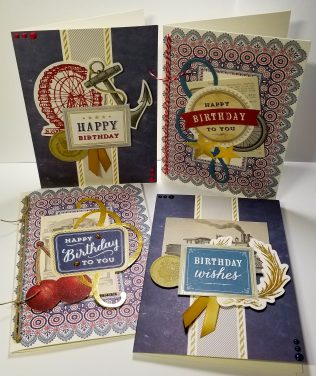 Anna Griffin Birthday Cards for Guys