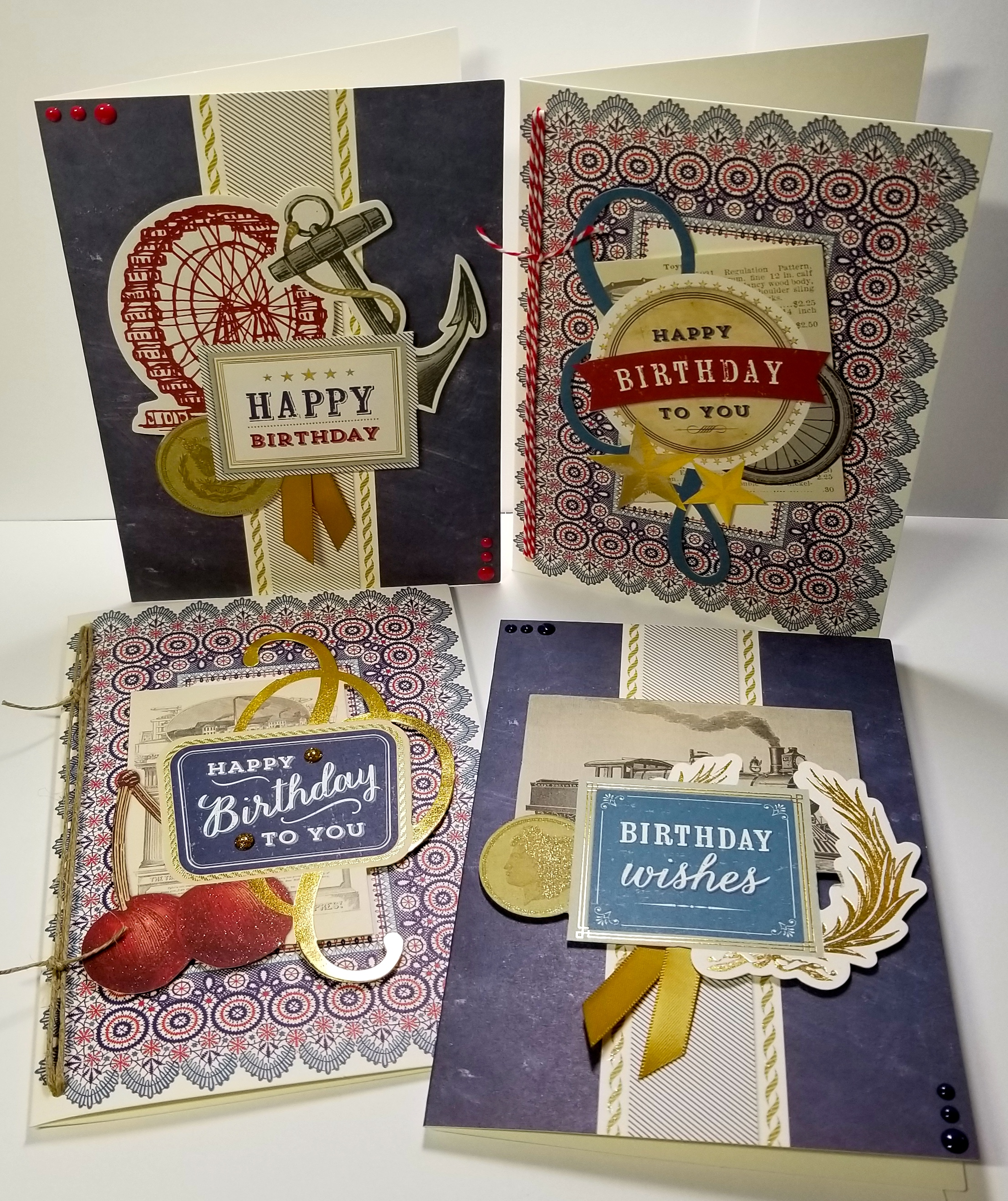 Anna Griffin Birthday Cards For Guys Paper Whims