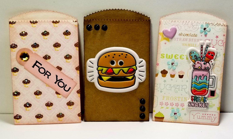 Paper Bag Gift Card Holders