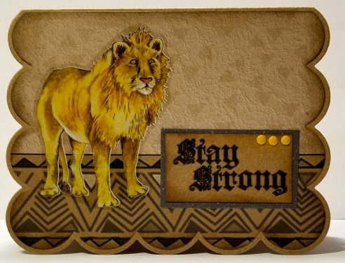 Stay Strong Lion