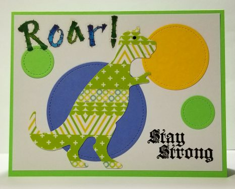 Stay Strong Dinosaur