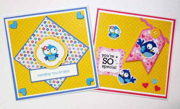 Blue Bird Note Cards