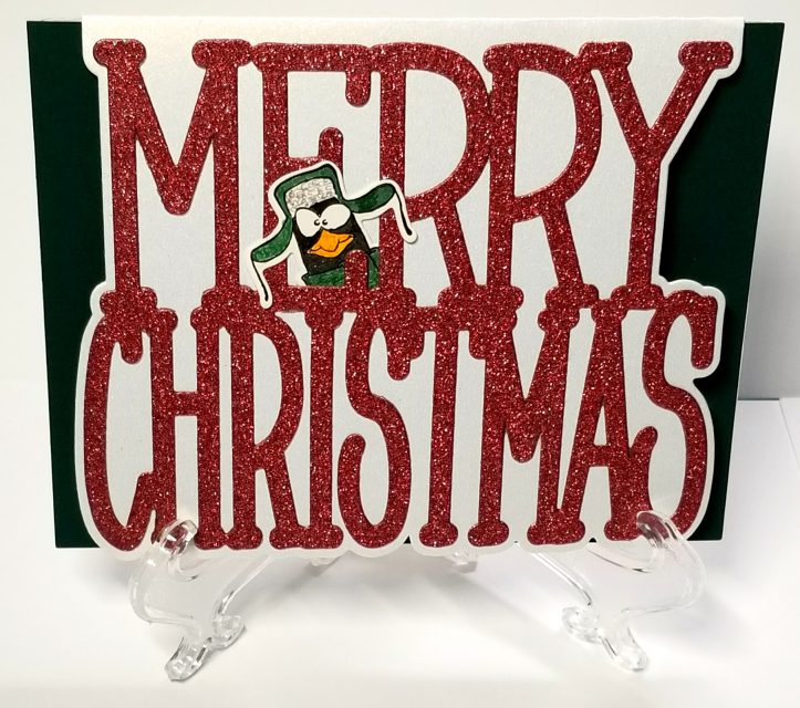 Merry Christmas Penguin