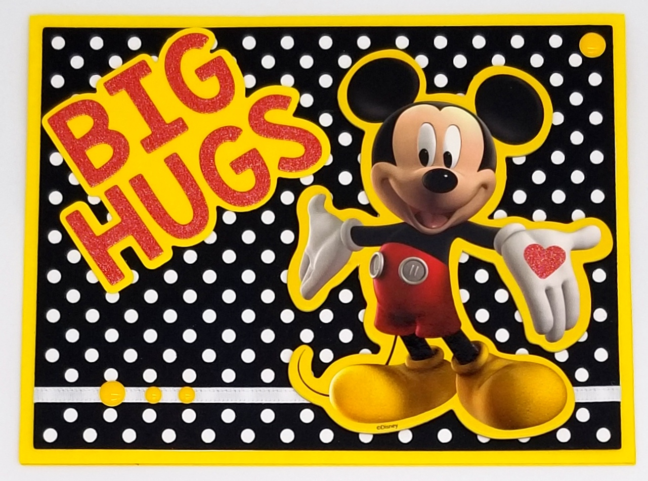 Big Hugs Mickey Mouse Paper Whims