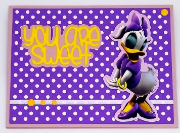 You Are Sweet – Daisy Duck