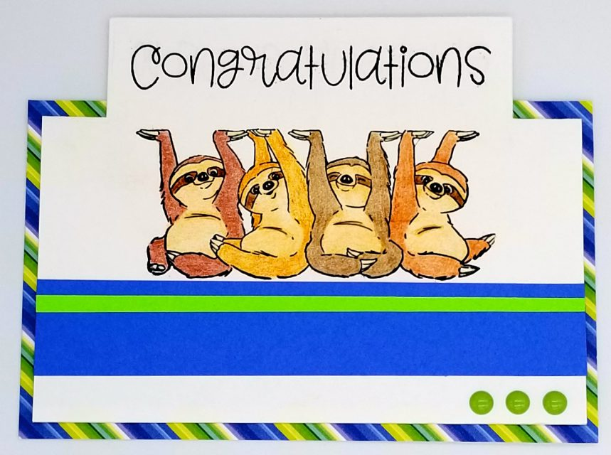 Sloth Congrats