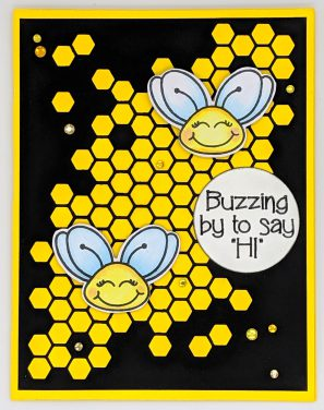 """Buzzing By to Say """"Hi"""""""