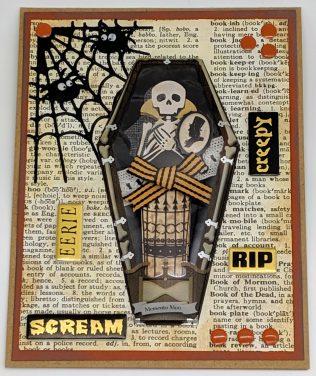 Skeleton in a Coffin – Vintage