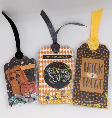 Halloween Shaker Gift Tags