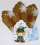 Elf and Snowflake Gift Tags