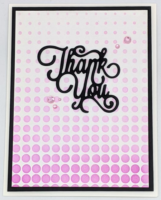 Dotted Thank You