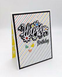 Pinstripe Birthday