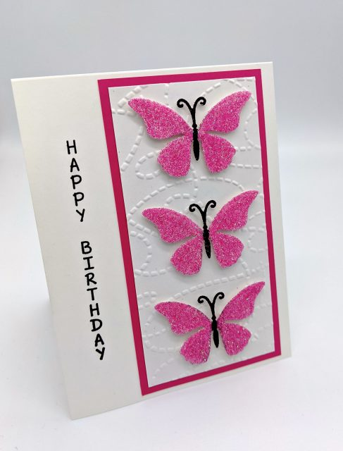 Pink Butterfly Birthday