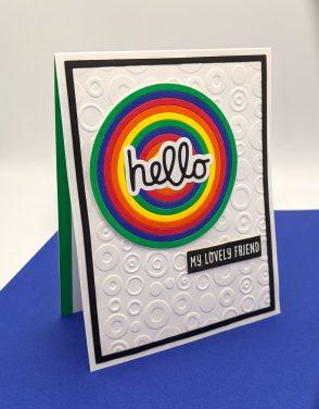 Hello Rainbow Circle