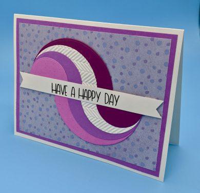Geometric Wave Happy Day