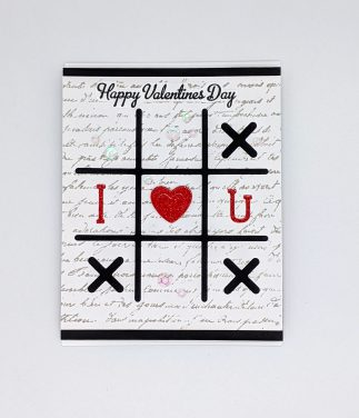 Tic Tac Toe – Happy Valentine's Day