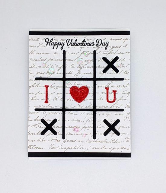 Tic Tac Toe – Happy Valentine's Day