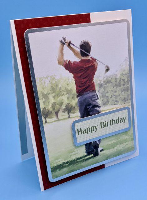 Birthday Golfer