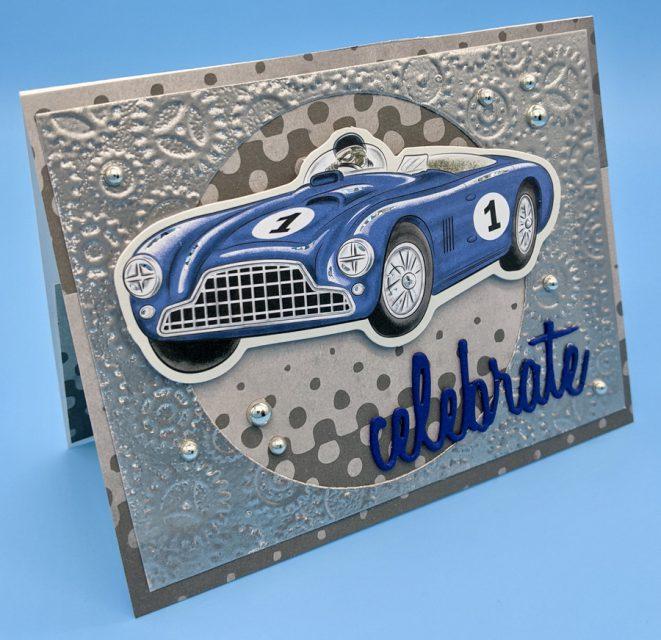 Blue Race Car Birthday